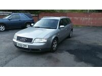 2002 Audi A6 Estate 1.9 TDI, Motd Feb 2017, With Towbar!