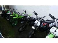 Brand new dirt bikes