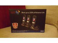 BT8500 Advanced Call Blocker Trio Phone Set with Answerphone