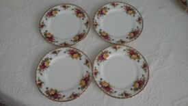Royal Albert Old Country Roses Salad Plates 8""