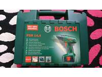 DRILL BOSH CORDLESS PSR 14,4 V USED - requires replacement battery