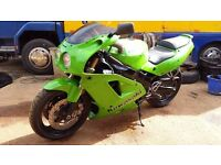 Kawasaki ZXR750 J1,fitted with ZX9R engine
