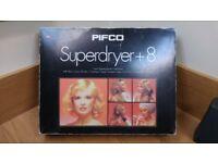 A Vintage PIFCO Superdryer+8 hairdryer