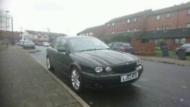 2002 Black Jaguar X-Type Sport 2.5 V6 AWD 4X4 Automatic