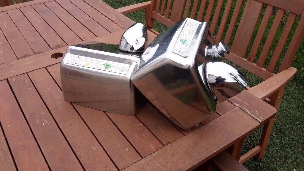 Commercial Hand Dryers, Restaurants, Hotel, Cafe , Bar, Restrooms, Retro Polished Steel.