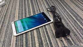 HTC One Max 16GB unlocked white color with charger £180.00
