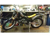 Fantic 249r section 1995 trials bike road legal motorbike trail off road stunt