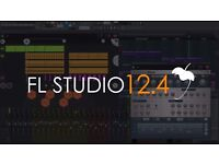 FL Studio + ALL Plugins Bundle Version 12.4.1 New*