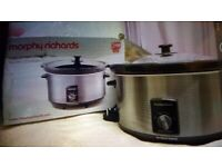 Brand New boxed. Morphy Richards Slow Cooker. Collect today cheap