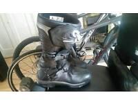 Alpines res corozal motorbike motorcycle boots