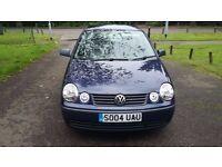 Volkswagen Polo E, 04 MOT July 2017! **50,000 Guaranteed LOW MILES**