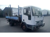Iveco ford 7.5 tonne tipper lorry motd