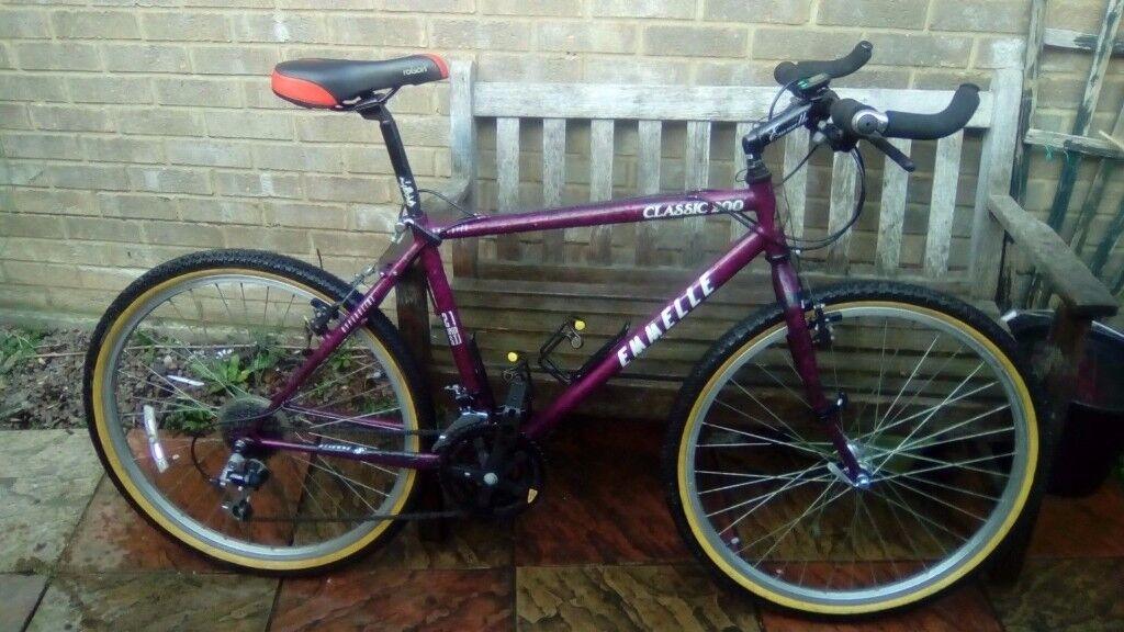 mens mountain bike retro emmelle classic 200 near mint condition