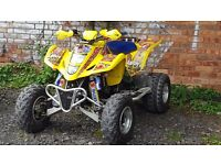 SUZUKI LTZ 400 2007 ROAD LEGAL QUAD BIKE