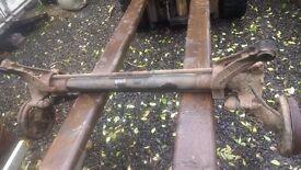 2008 berlingo/partner rear axle good condition