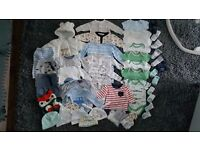 Baby boy newborn bundle.