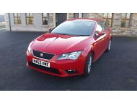 2014 Seat Leon SE TDi, 5 door, manual