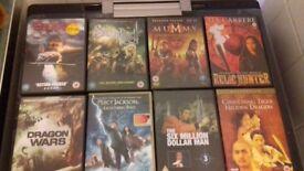 50 DVD films must go!