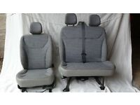 Renault Trafic/Vivaro/Primestar, driver and double passenger seats