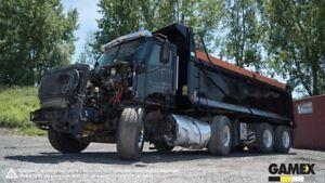 2015 CATERPILLAR CT660 DUMP TRUCK