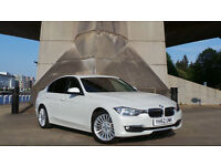 2012 62 BMW 320D 2.0 LUXURY PROFF MEDIA WHITE 60K(2 YEARS AA WARRANTY)