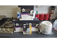 Tommee tippee ultra bottles and teats NEW