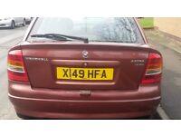 CAR FOR SALE Vauxhall Astra 1.4i Envoy 16v