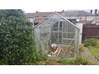 Green house ,all glass