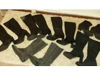 Job lot of ladies boots