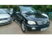 2004 Mercedes ML 270 CDI Face lift Black Leather New Tyres & MOT Great Workhorse