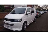 VW Transporter, T5, Facelift, 6 seats,Camper,King size bed,NO VAT!!!!