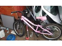 Landrover Girls age 5 up bycicle