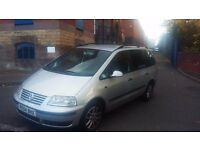 volkswagen sharan TDI 54 plate - JUST BEEN MOT'd