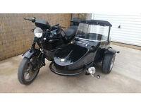 BMW Motorcycle and Watsonian Palma Sidecar