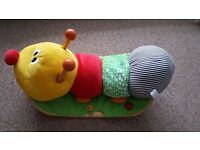 WOODEN ROCKING CATTERPILLAR BY WONDERWORLD