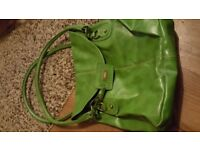 Next olive green slouchy bag.