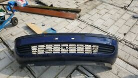vauxall zafira mk 1 front and rear bumpers