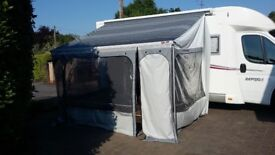 Privacy Awning for Motorhome Campervan Fiamma ZIP M/L3.5 only used a few times