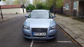 2005 Audi A3 1.6 Blue 5dr hatchback AUTO petrol MOT July2019 full service history 2keys