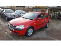 2003 Vauxhall Corsa 1.0 i 12v Active 3dr / NEW MOT - NO ADVISORY