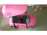 PINK AUDI CAR