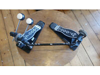 DW 7000 Double Pedal, brand new pearl beaters