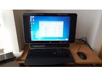 HP Touchsmart All in one PC Microsoft windows 7 3GB RAM 500GB HDD