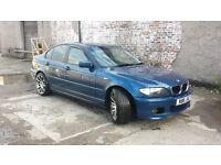BMW 3 Series E46 318i 2002/3 Manual 5 Doors - Blue - Private Reg Inc + Parrot Bluetooth + 10mnth MOT