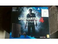 PS4 bundle. Brand new. Untouched. With UNCHARTED 4