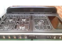 Range Master dual gas cooker 110cm..,Mint Free Delivery