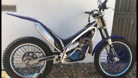 Trials bike gasgas