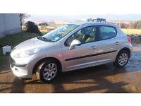 Car Hire Peugeot 207