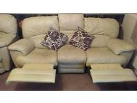 Free 3 seater recliner sofa
