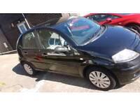 Citroen c3 1.4 SX petrol 5 doors hatchback black